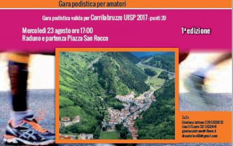 'Correre a Rocca Pia', gara podistica per amatori: mercoledì 23 agosto