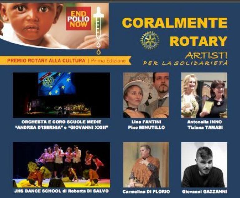 Isernia, 'Coralmente Rotary': spettacolo per la solidarietà all'Auditorium