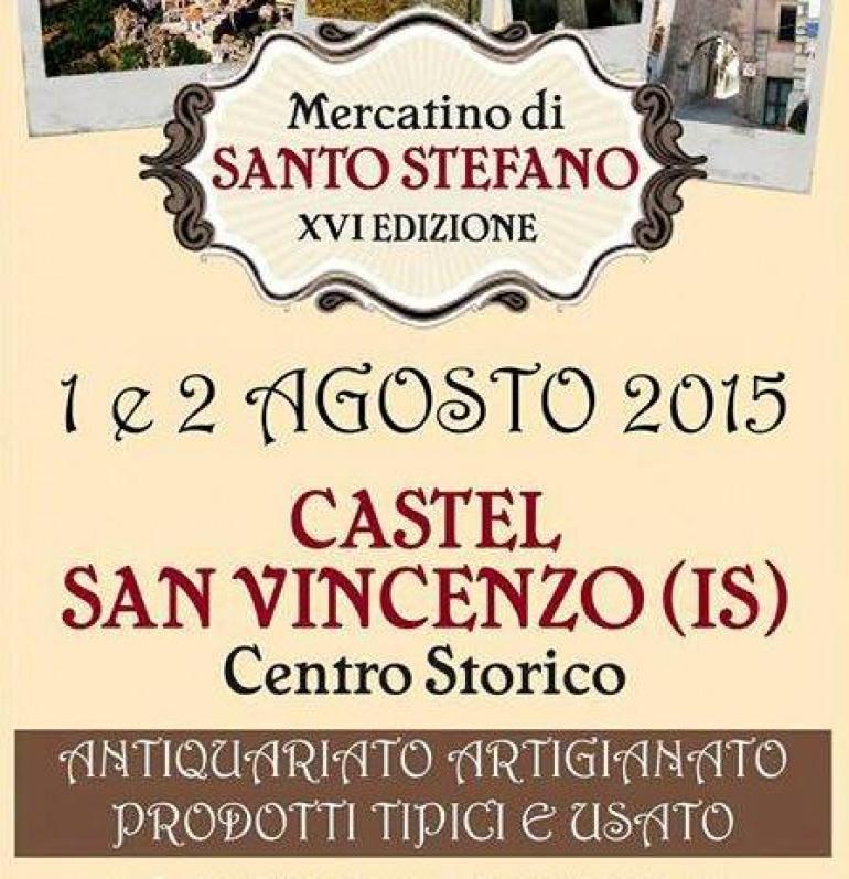 Castel San Vincenzo, artigianato e gastronomia al Mercatino di Santo Stefano