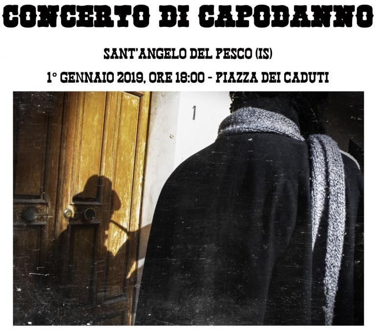 Concerto di capodanno a Sant'Angelo del Pesco, musica, divertimento e vin brulè