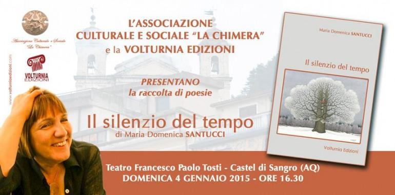 Al Teatro Tosti: 'Il silenzio del tempo', di Maria Santucci