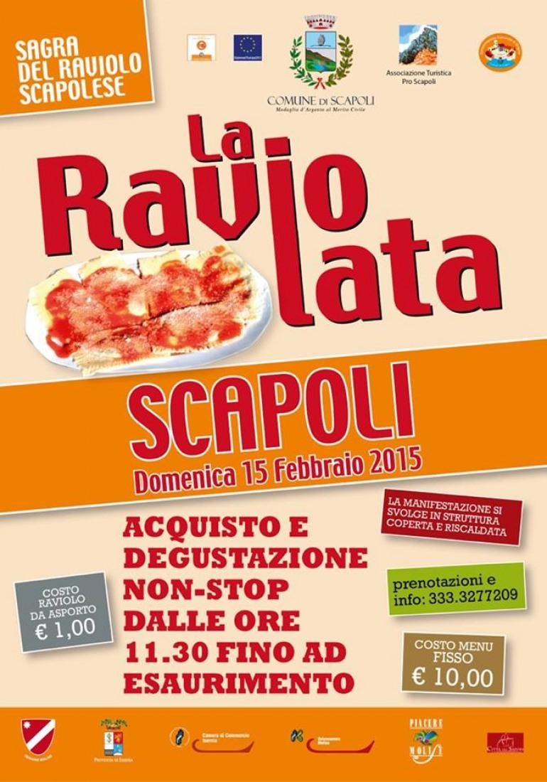 Raviolata di Carnevale a Scapoli