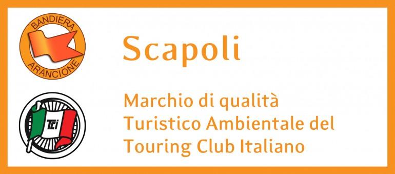 Touring Club riconferma la bandiera arancione a Scapoli