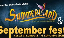 'September Fest 2015', boom dell'estate castellana