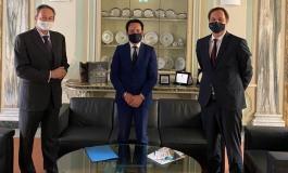 Roccaraso, Sindaco Di Donato ricevuto all'Ambasciata di Germania: avvio di un dialogo
