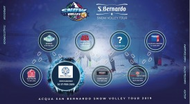 Acqua San Bernardo Snow Volley Tour, dal 16 febbraio tappa a Roccaraso