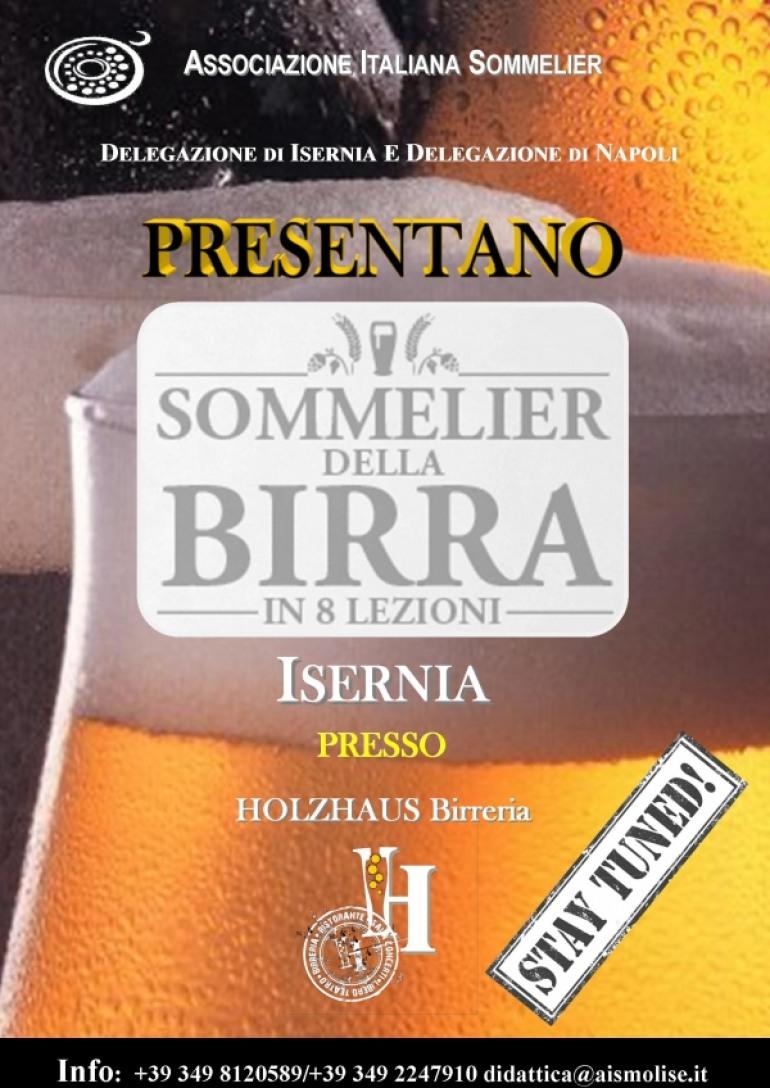 Isernia, diventa un sommelier della birra con il corso Ais