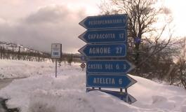 S. Angelo del Pesco, caos neve sulla Sp 88: sotto accusa il sindaco. Da Villa Santa Maria chiedono la rimozione del blocco stradale
