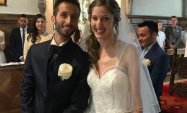 Sposi - Luigi Paglione e Ariele Gortani coronano il loro sogno d'amore a Zuglio