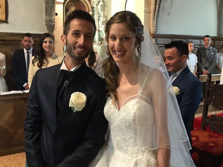 Sposi – Luigi Paglione e Ariele Gortani coronano il loro sogno d'amore a Zuglio