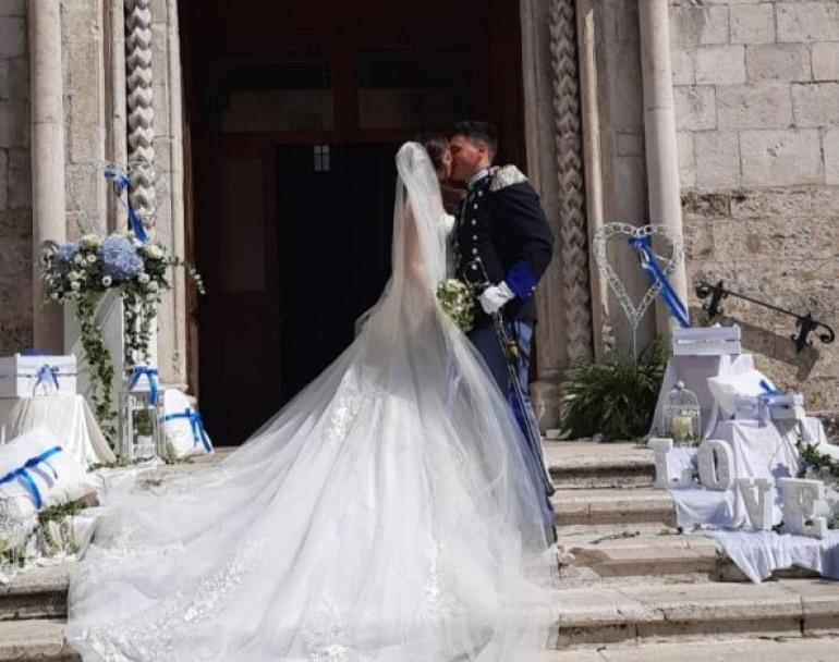 Francesco ed Elisa sposi, gli auguri di Mario e Luciana