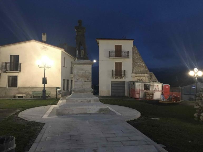 Ateleta, statua di Gioacchino Murat: la risposta del sindaco Marco Passalacqua