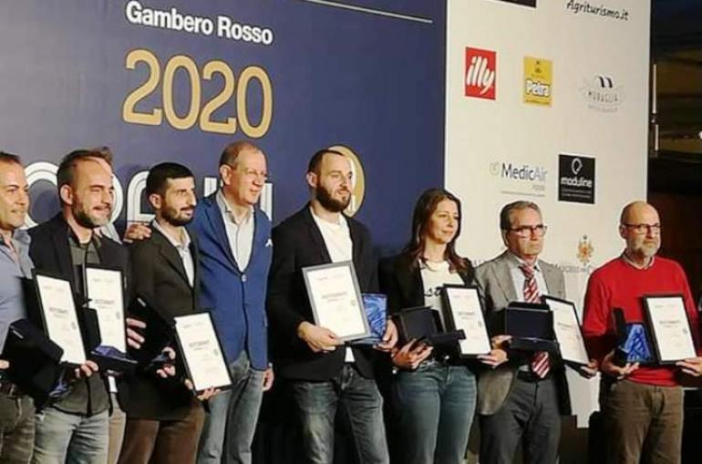 Ancora successi per la 'Locanda Mammì', a Roma il riconoscimento del 'Gambero Rosso'