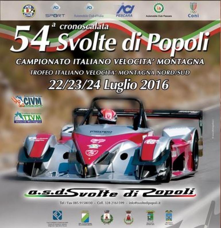 Allo start la cronoscalata 'Svolte di Popoli': in gara Roberto e Luli Del Castello