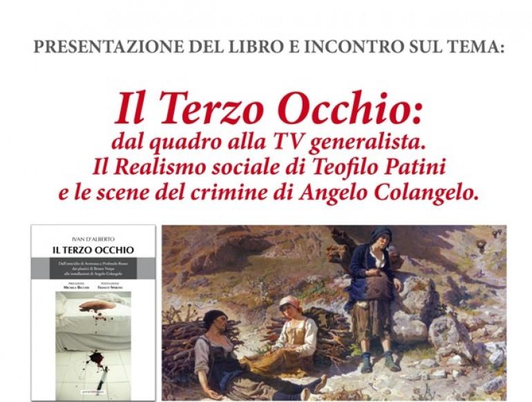 """Angelo Colangelo a Castel di Sangro per """" Il terzo occhio"""""""