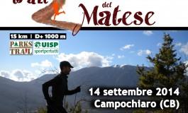 Trail del Matese, pronti per la partenza. Domenica 14 settembre a Campochiaro
