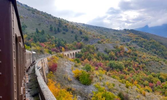 Treno Storico - Transiberiana d'Italia, tragitto alla scoperta del foliage autunnale