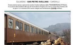 """E' in arrivo sul binario della Transiberiana d'Italia """" Il treno del tartufo bianco"""""""