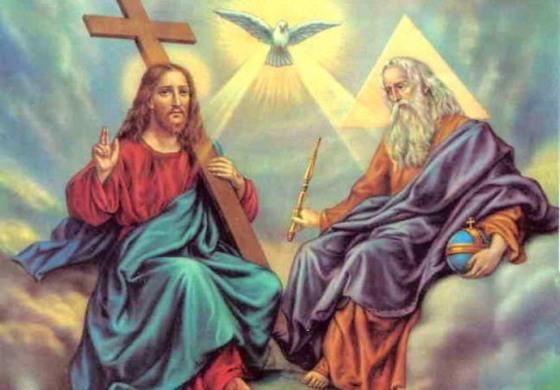 Santissima Trinità, gloria al Padre al Figlio e allo Spirito Santo
