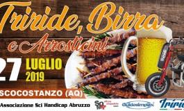 Triride, birra e arrosticini a Pescocostanzo: sabato 27 luglio