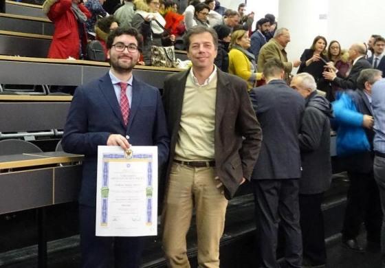 Laurea e menzione accademica per l'ingegnere di Barrea Erminio Maria Ursitti
