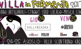 'Villa in Fermento', festival delle birre artigianali a Villa Scontrone: 24-25 agosto