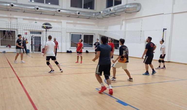 Pallavolo a Castel di Sangro, campionato di prima divisione e inizio corso