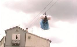 Vastogirardi, l'Angelo torna a volare sul cielo dell'Alto Molise