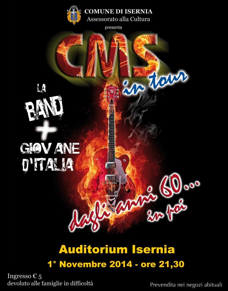 Isernia, C.M.S. in concerto. La band più giovane d'Italia si esibisce all'auditorium