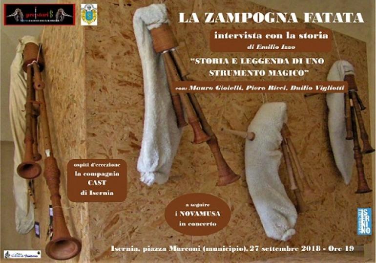 Isernia, la storia della zampogna con Gioielli, Ricci e Vigliotti